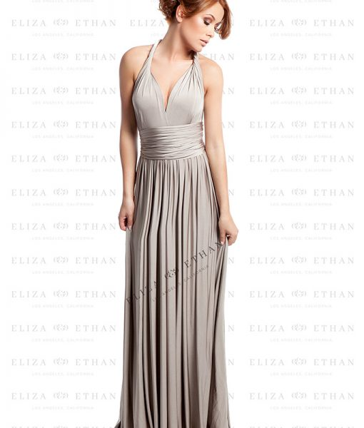 Alila-Champagne-Multiwrap-Dress-by-Eliza-and-Ethan