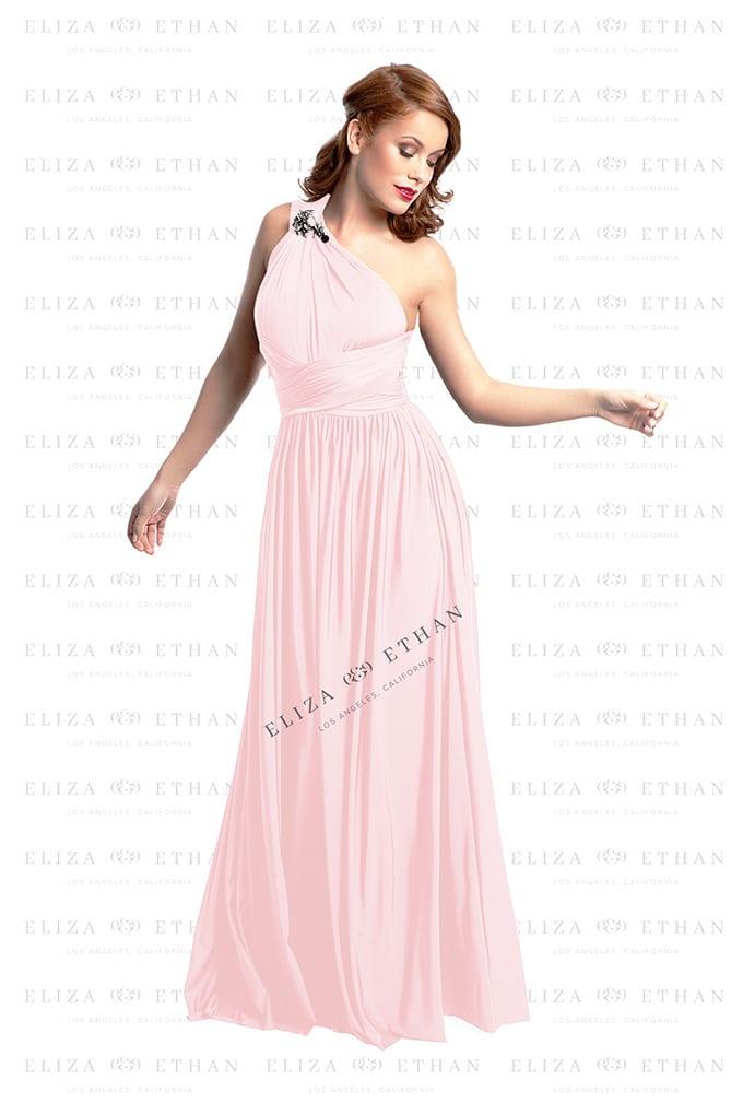 Cherry Blossom Eliza & Ethan Multi-wrap Dress - Alila