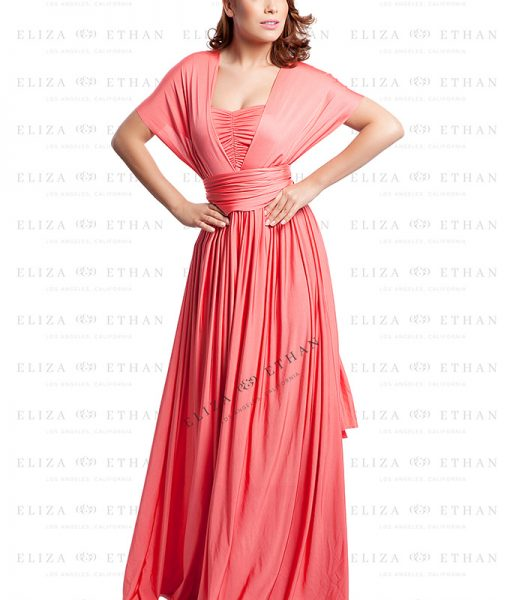 Alila-Coral-Multiwrap-Dress-Eliza-and-Ethan