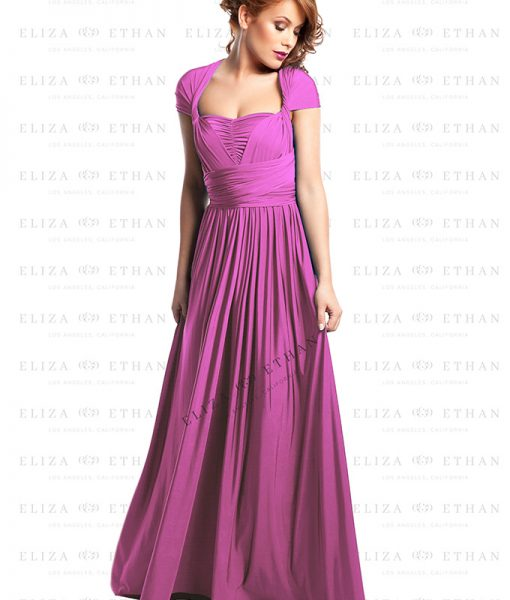 Alila-Raspberry-Multiwrap-Dress-Eliza-Ethan