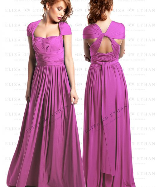 Alila-Raspberry-Multiwrap-Dress-by-Eliza-Ethan
