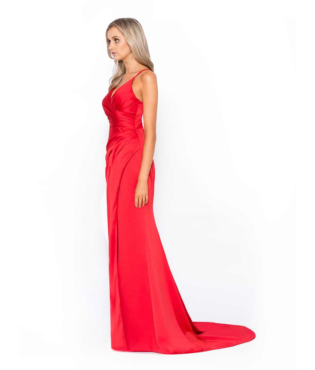 Alila-Red-Satin-Gown-Bariano