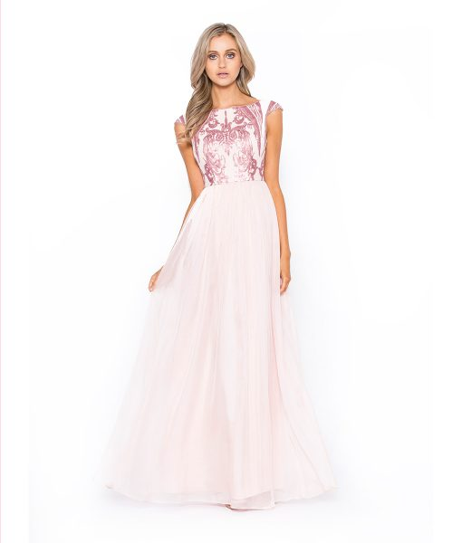 Alila Boutique Blush Gown
