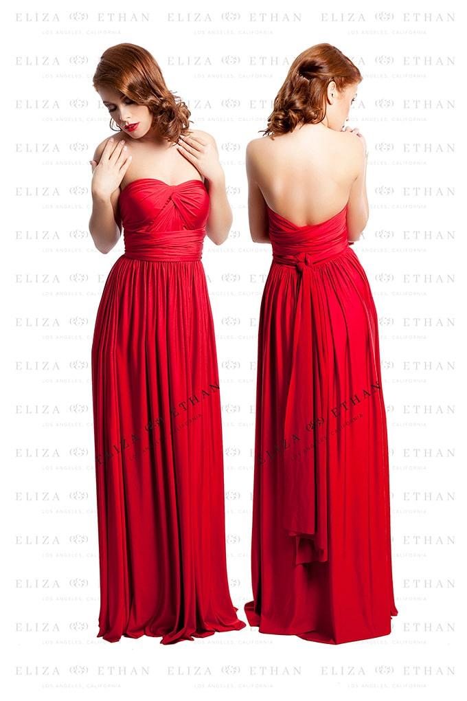 Ruby Eliza Amp Ethan Multiwrap Dress Alila