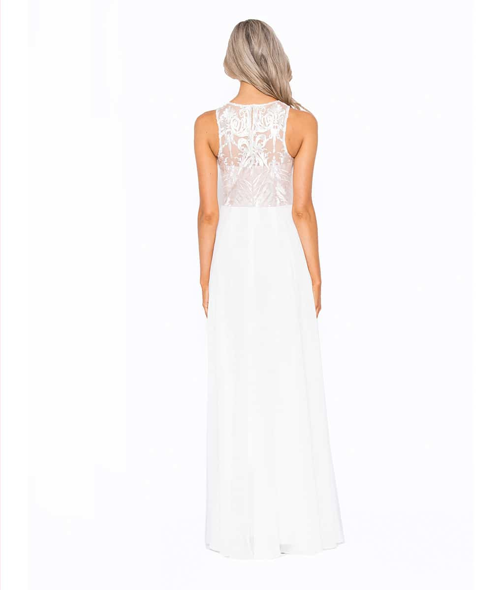 Alila-White-Bridal-Style-Debs-Gown-Bariano