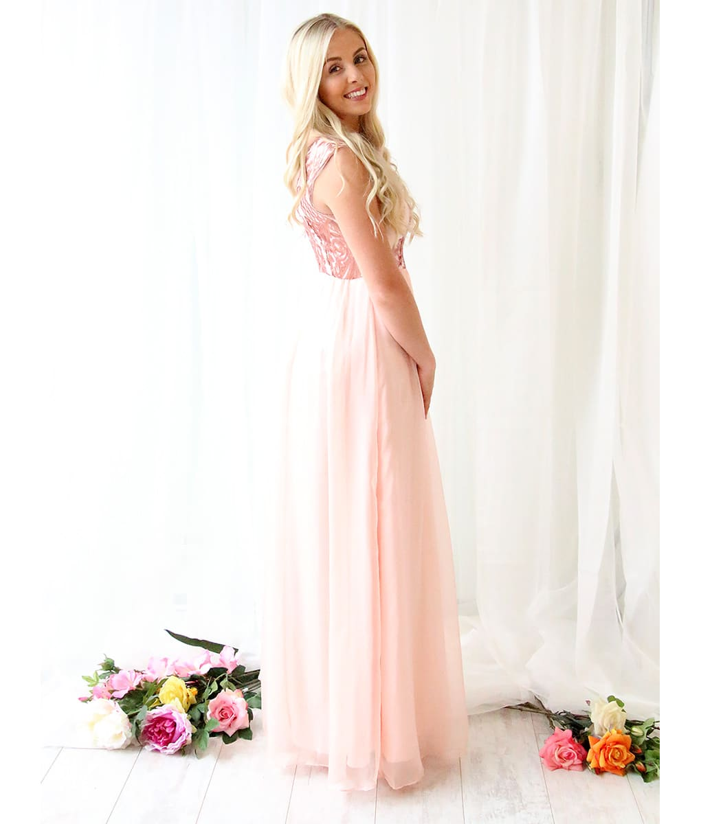 Alila-Blush-Chiffon-evening-gown-Bariano