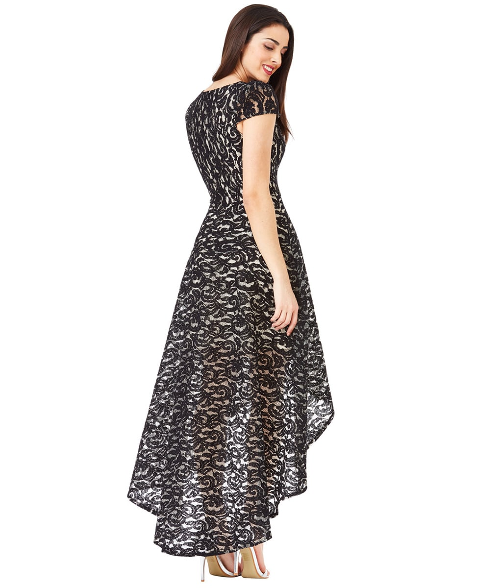 Alila-Hi-Lo-lace-cap-sleeve-dress-for-races-City-Goddess
