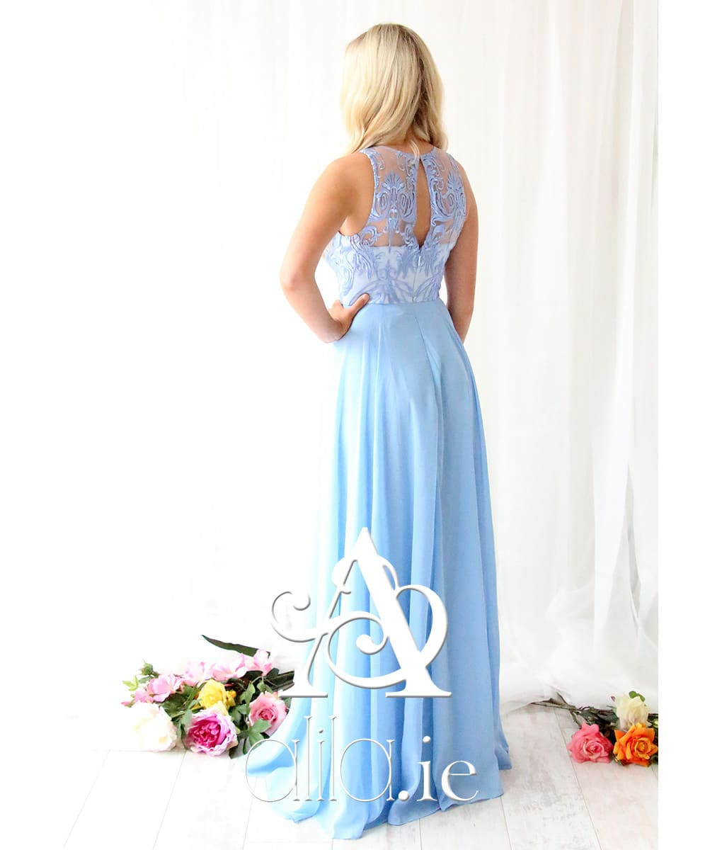Alila-Light-Blue-Chiffon-Embroidered-Debs-Dress-Bariano