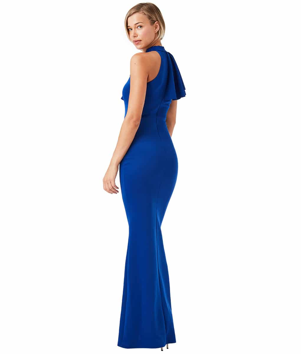 Alila-Royal-Blue-Ruffle-Gown-City-Goddess