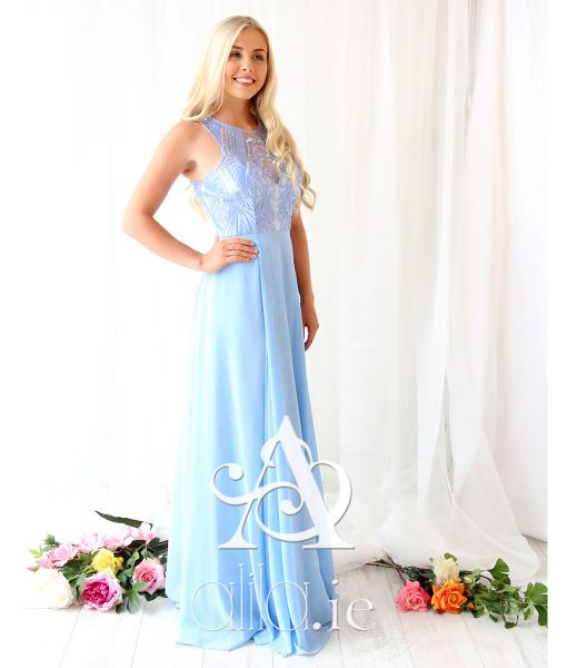 Alila-Sky-Blue-Chiffon-Embroidered-Debs-Dress-Bariano