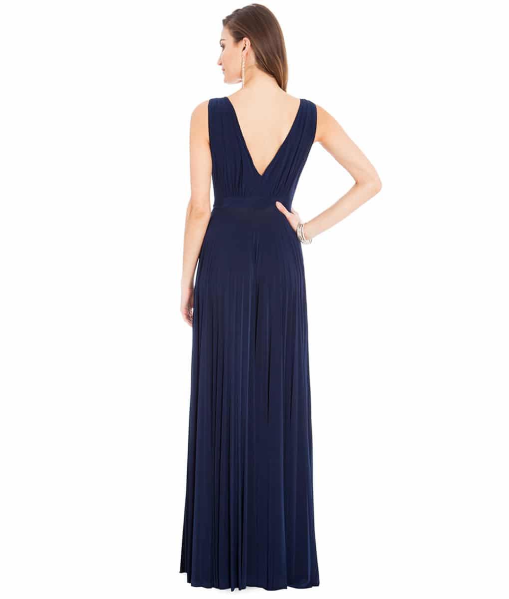 Alila-navy-plunge-bridesmaid-dress-city-goddess