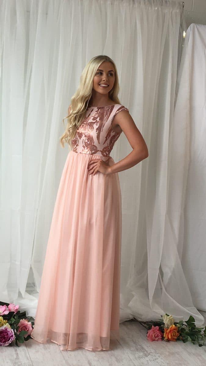 behind the scenes debs prom bridesmaid