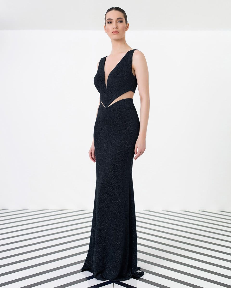 Alila-Black-Glitter-cut-out-debs-dress-Explosion-London