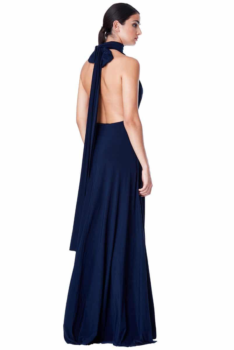 Alila-Multiway-Dress-Navy-Back-City-Goddess