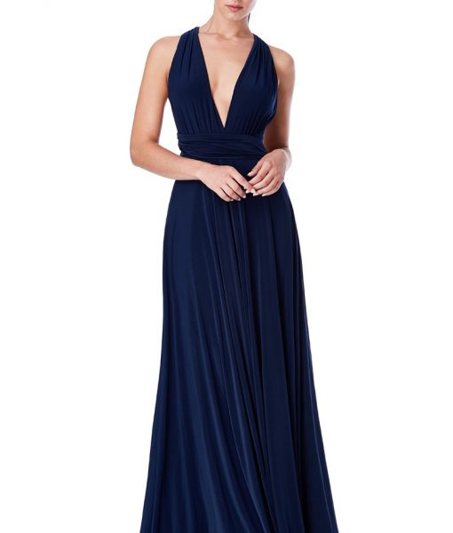 Alila City Goddess Multiway dress navy