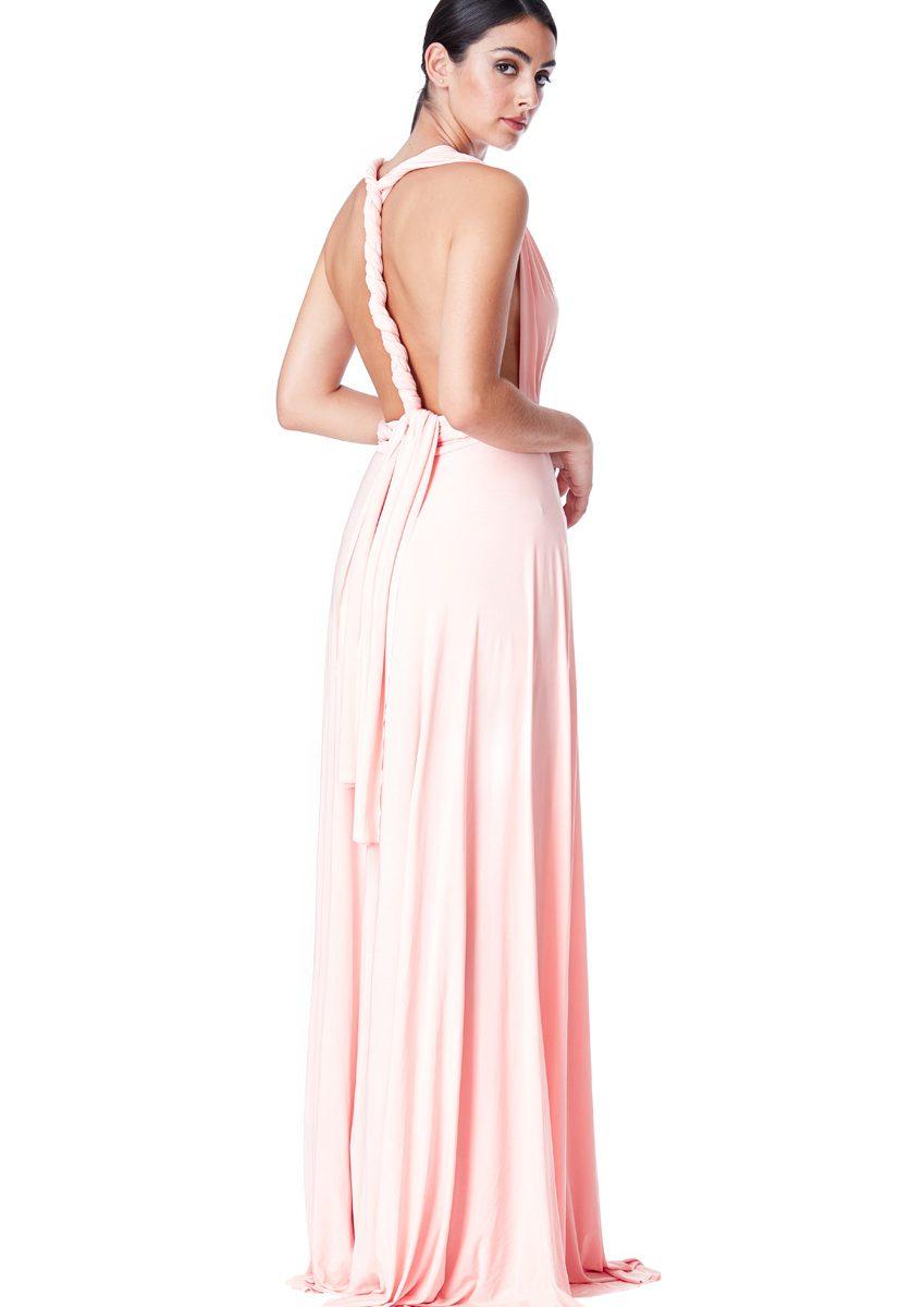 Alila-Multiway-Dress-Pale-Pink-Back-City-Goddess