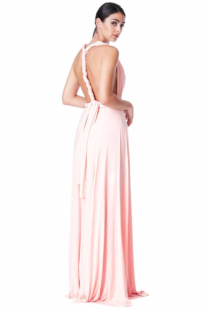 Alila City Goddess Multiway dress pink