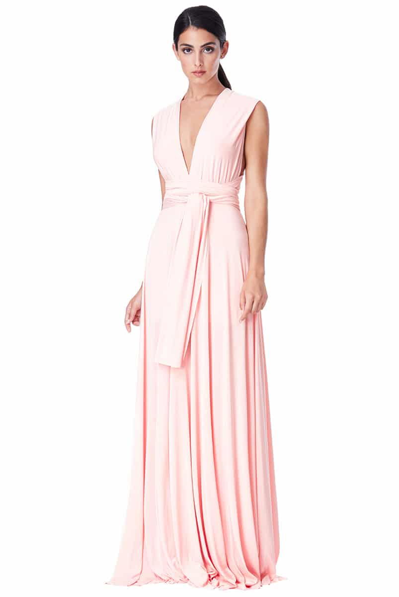 Alila City Goddess Multiway dress pink