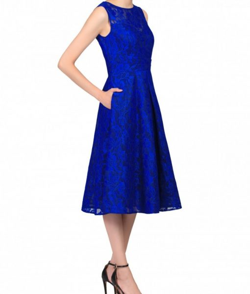 Alila-Electric-blue-Lace-Bonded-Prom-Dress-royal-Jolie-Moi