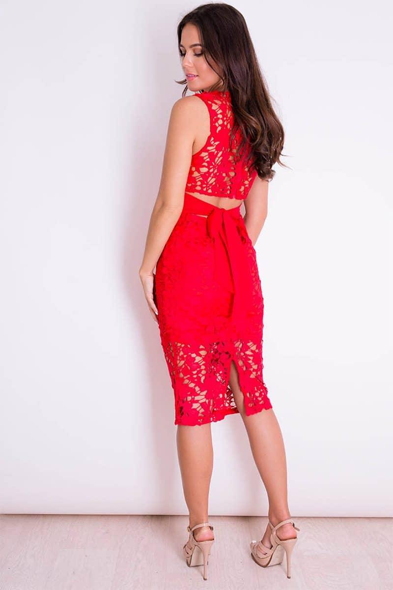 Alila-Red-Lace-Midi-Dress-Girl-in-Mind
