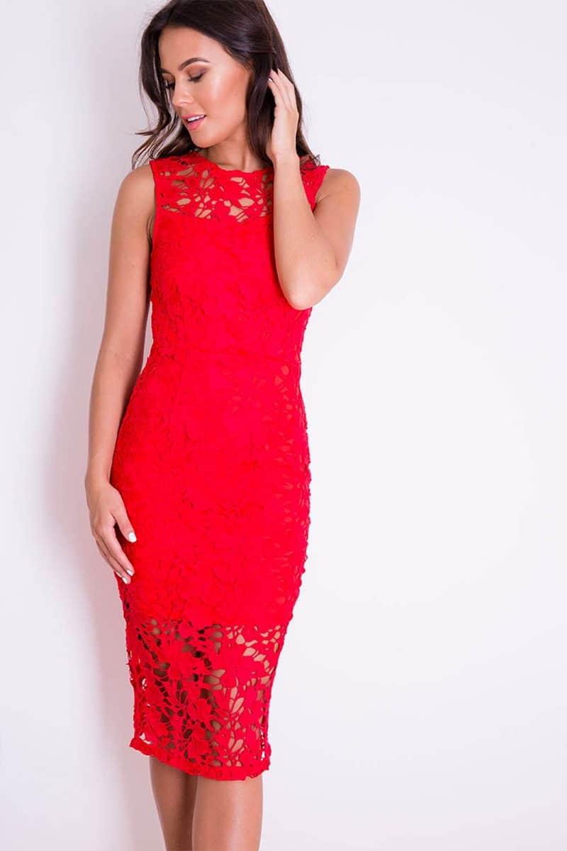 Alila-Red-Lace-Midi-Dress-back-slit-Girl-in-Mind