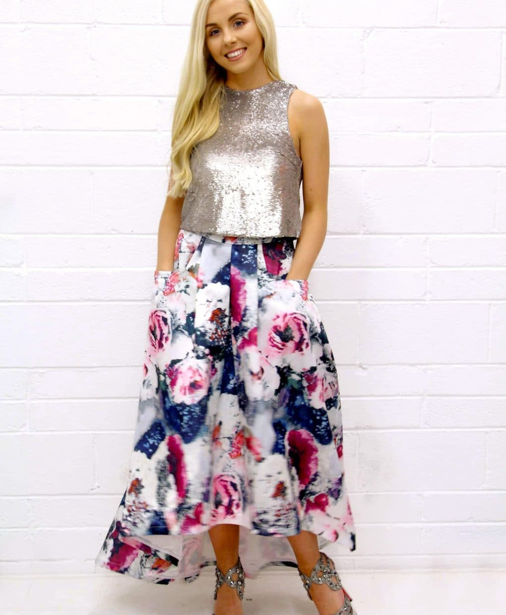 Floral-Print-Skirt-Jolie-Moi-with-pockets-Alila