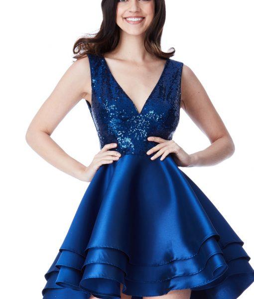 Alila-Blue-Sequins-Ruffle-City-Goddess-3