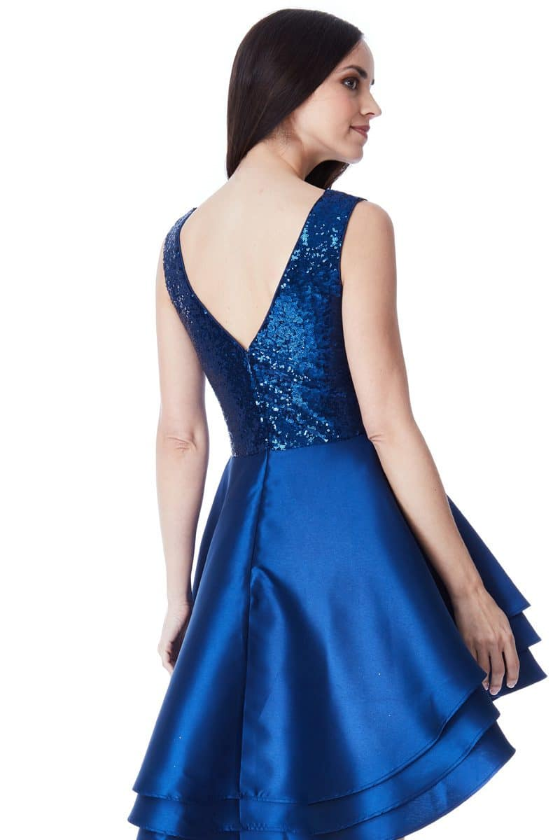 Alila-Blue-Sequins-Ruffle-City-Goddess