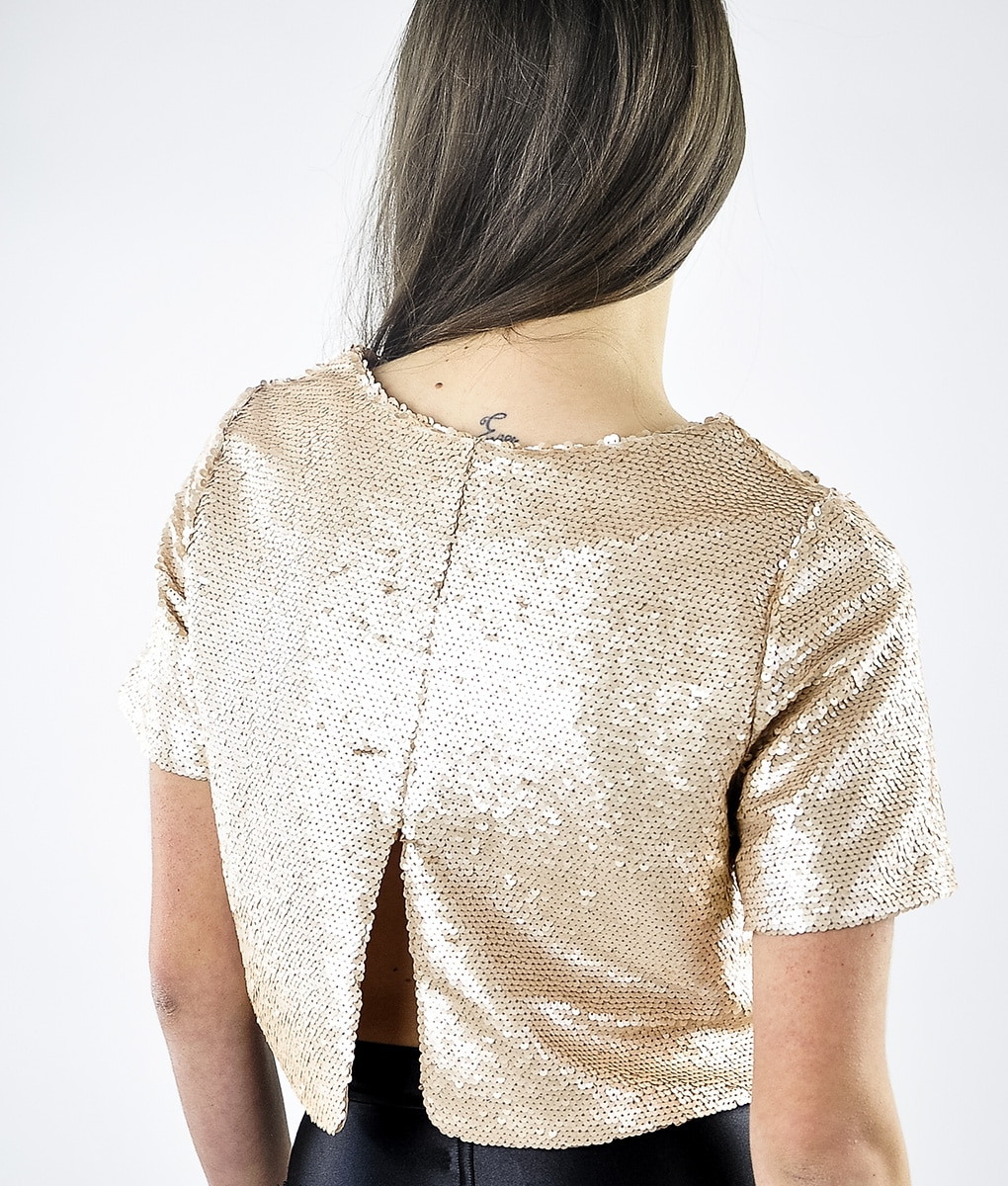Alila-Champagne-Sequins-Crop-Top-Back