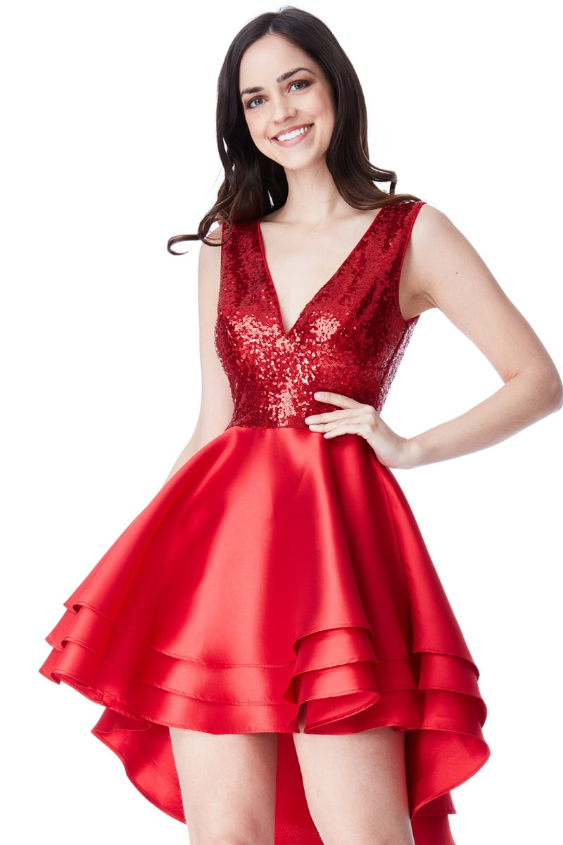 Alila-Red-Sequins-Ruffle-City-Goddess-3