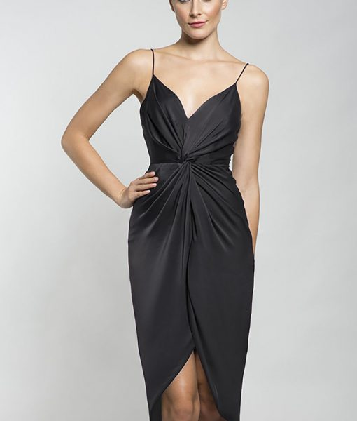 Alila-black-silky-strappy-dress-Lumier