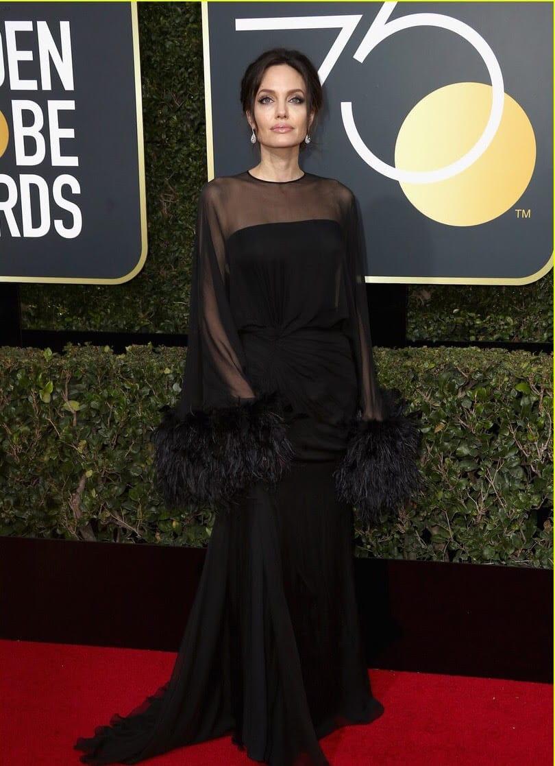 Golden Globes - Red Carpet Report 2018.