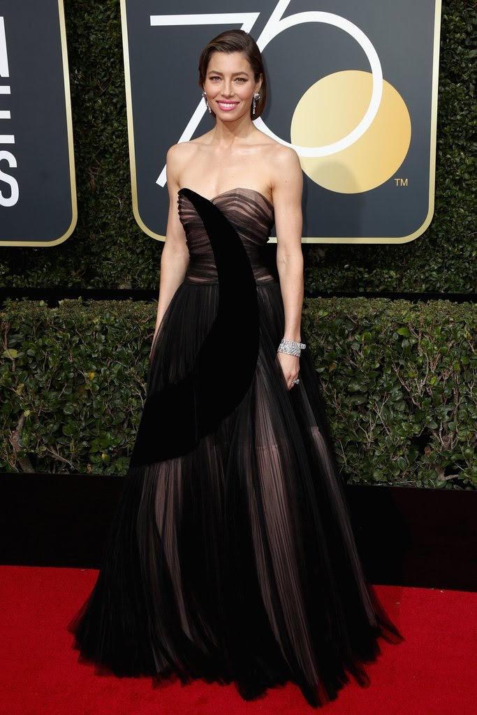 Golden Globes - Red Carpet Report 2018.Golden Globes - Red Carpet Report 2018.