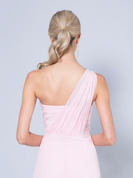 Alila-Blush-pink-chiffon-bridesmaid-dress-Bariano