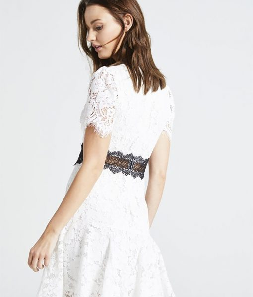 Alila-Cream-lace-dress-mini-for-races-Angeleye