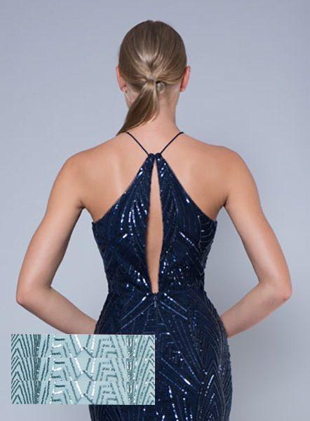 Alila-Mint-embellished-keyhole-midi-dress-Lumier-Bariano-back