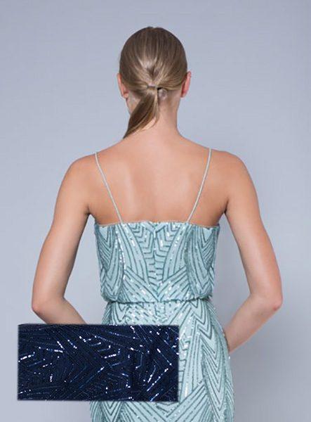 Alila-Navy-sequin-evening-dress-Lumier-Bariano-back