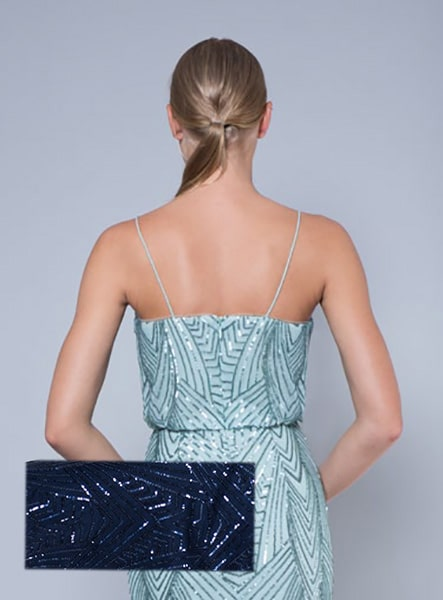 Alila-Navy-sequin-evening-dress-Lumier-Bariano-back