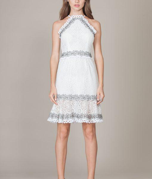 Alila-white-halter-lace-dress-FoxieDox