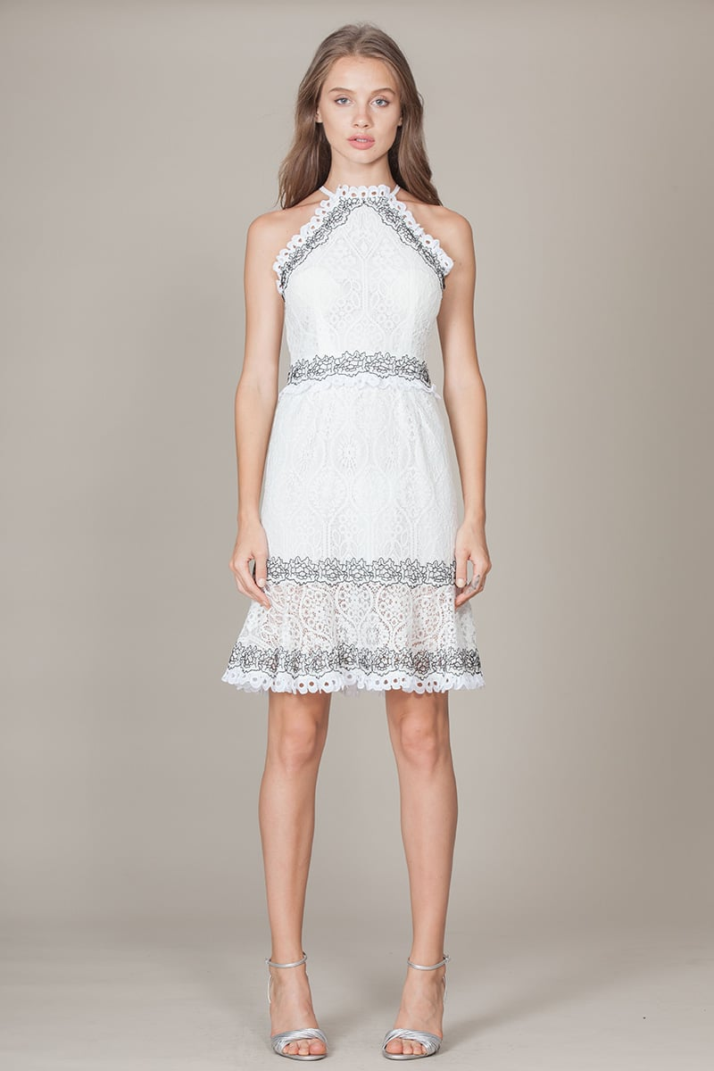 Alila-white-halter-lace-dress-FoxieDox
