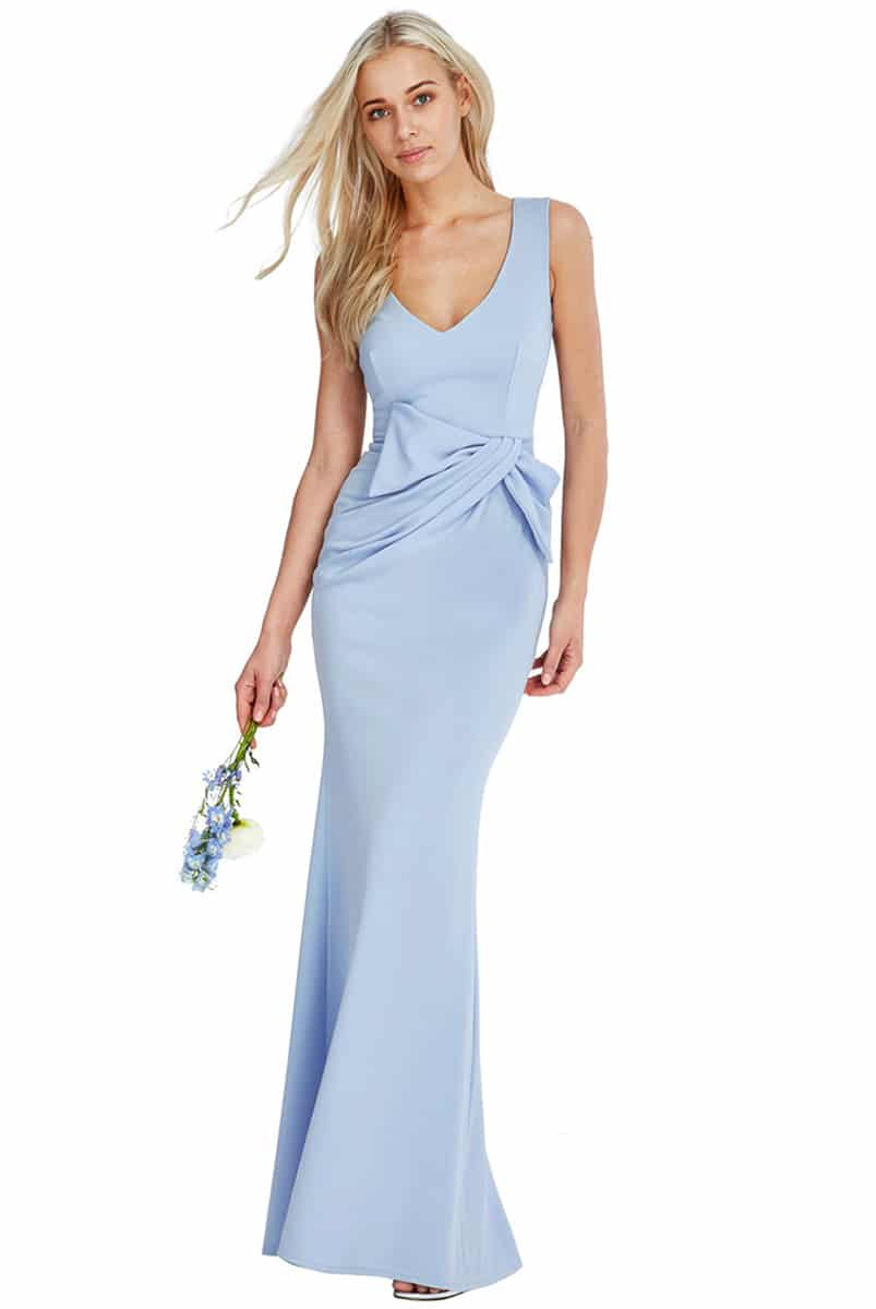 Alila-Baby-Blue-Bridesmaids-Dress-City-Goddess