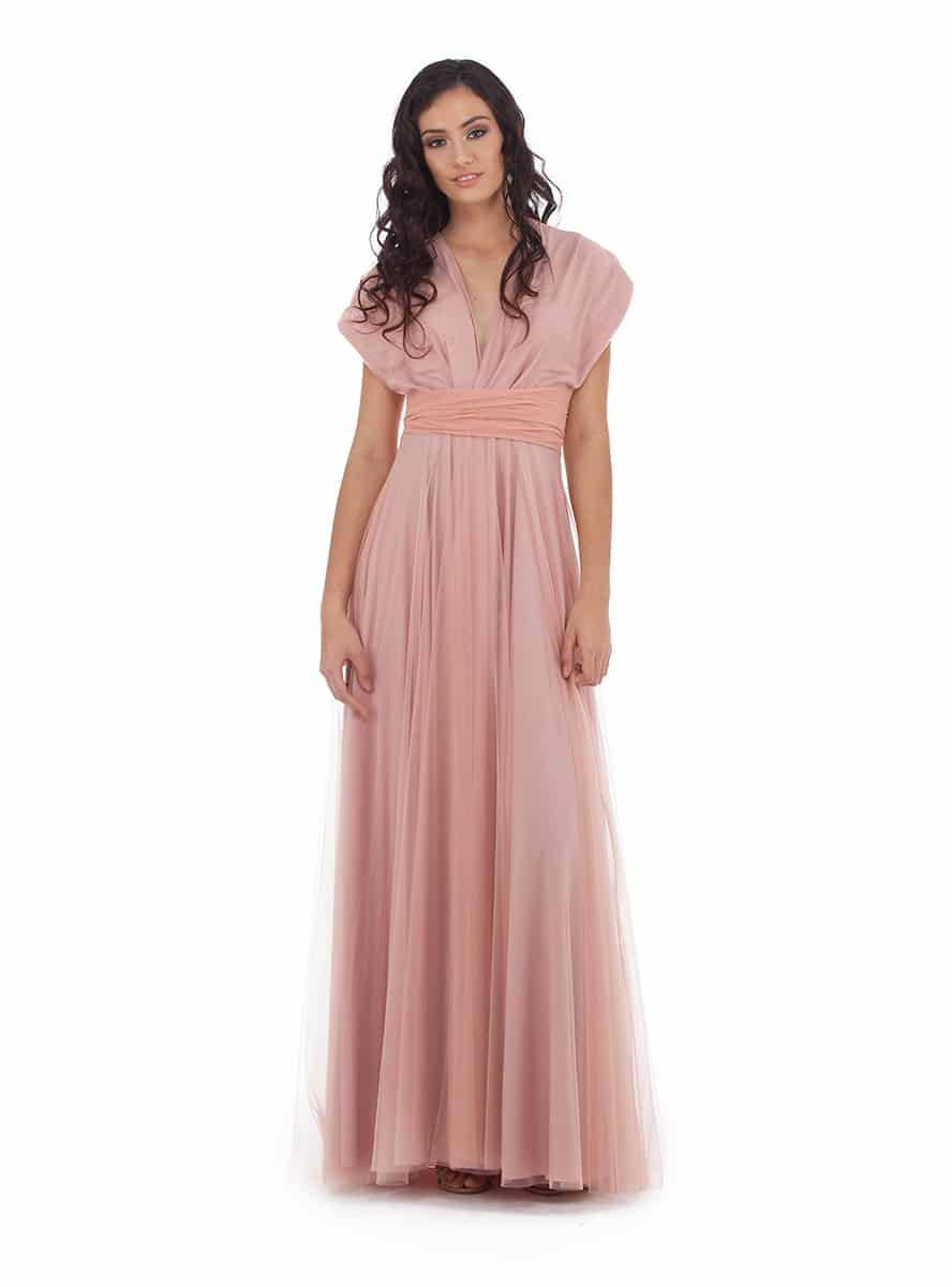 Alila-Bridesmaids-Dusty-pink-tulle-multiway-goddess-by-nature-bridesmaids-dress