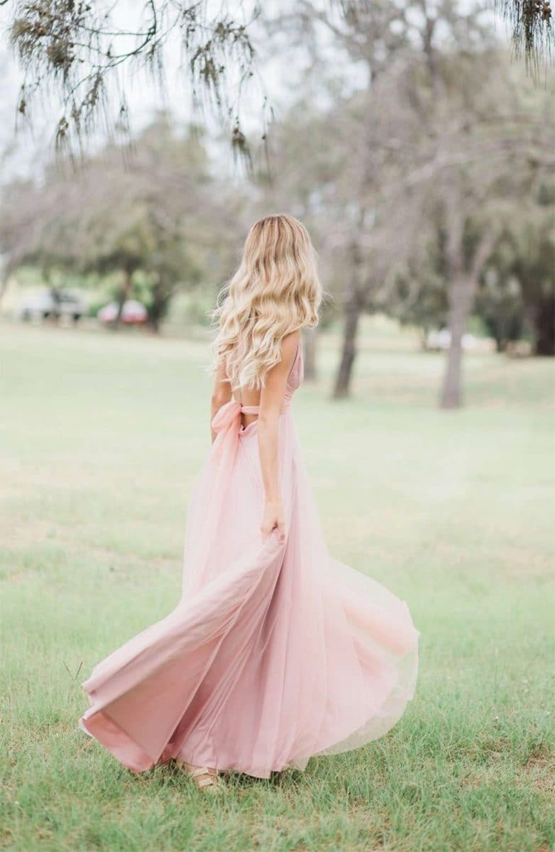 15d0c84a45 Alila-Bridesmaids-Dusty-pink-tulle-multiway-goddess-by-nature-bridesmaids- dress