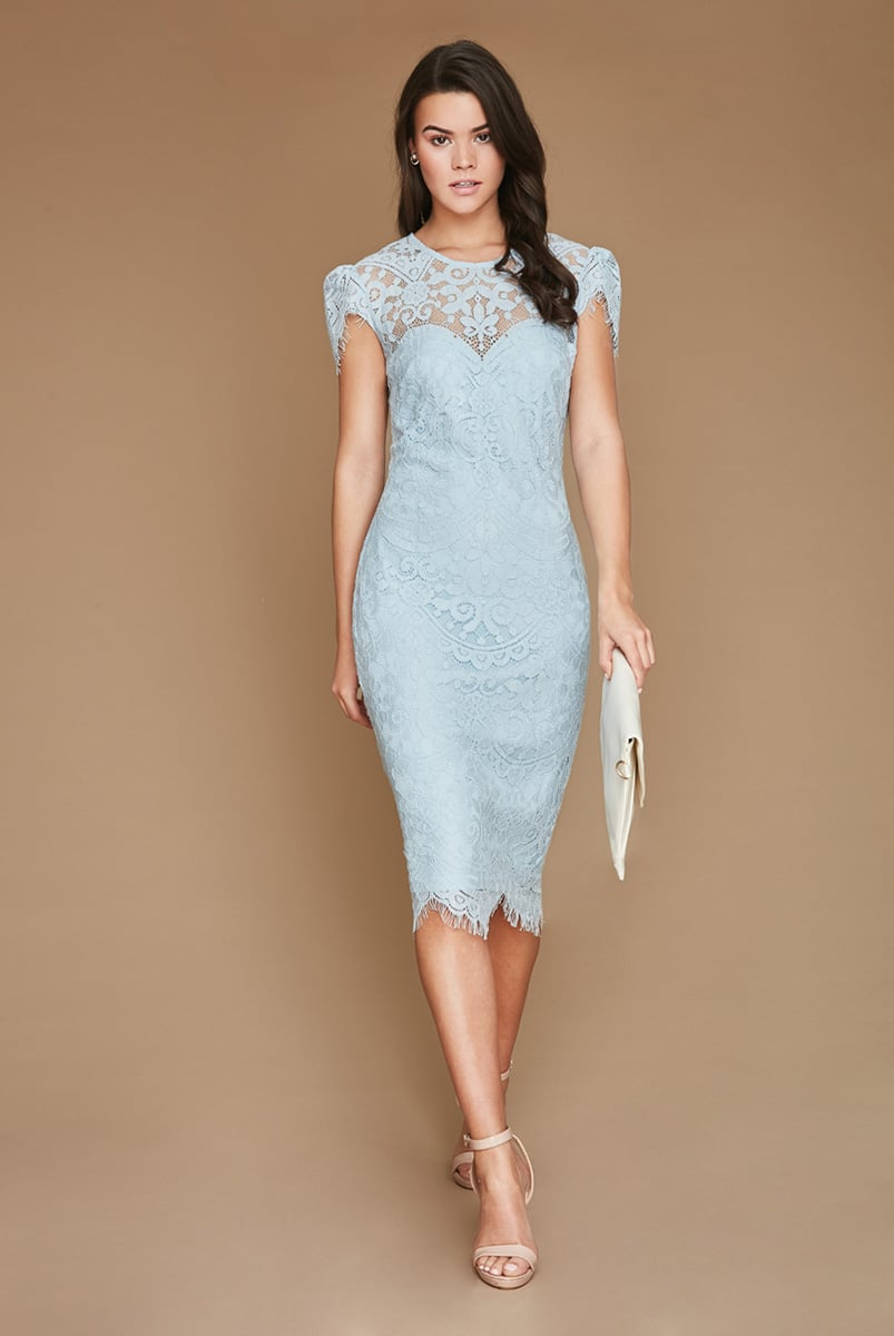 Alila-City-Goddess-Blue-Lace-Midi-Dress