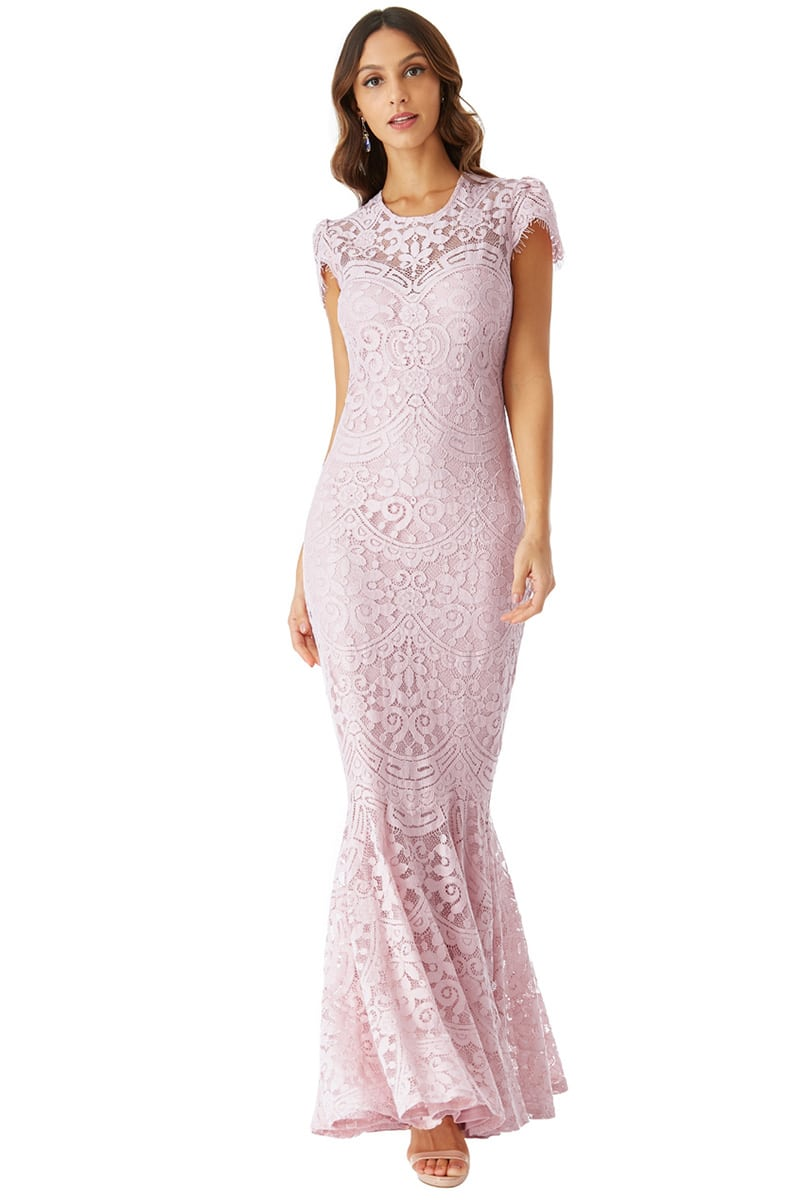 Alila-City-Goddess-Pink-Lace-Gown