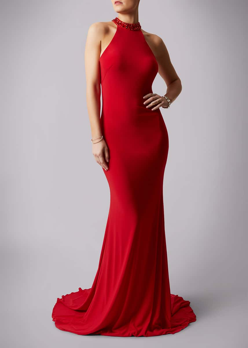 Alila-Red-Backless-jewelled-debs-dress-Mascara