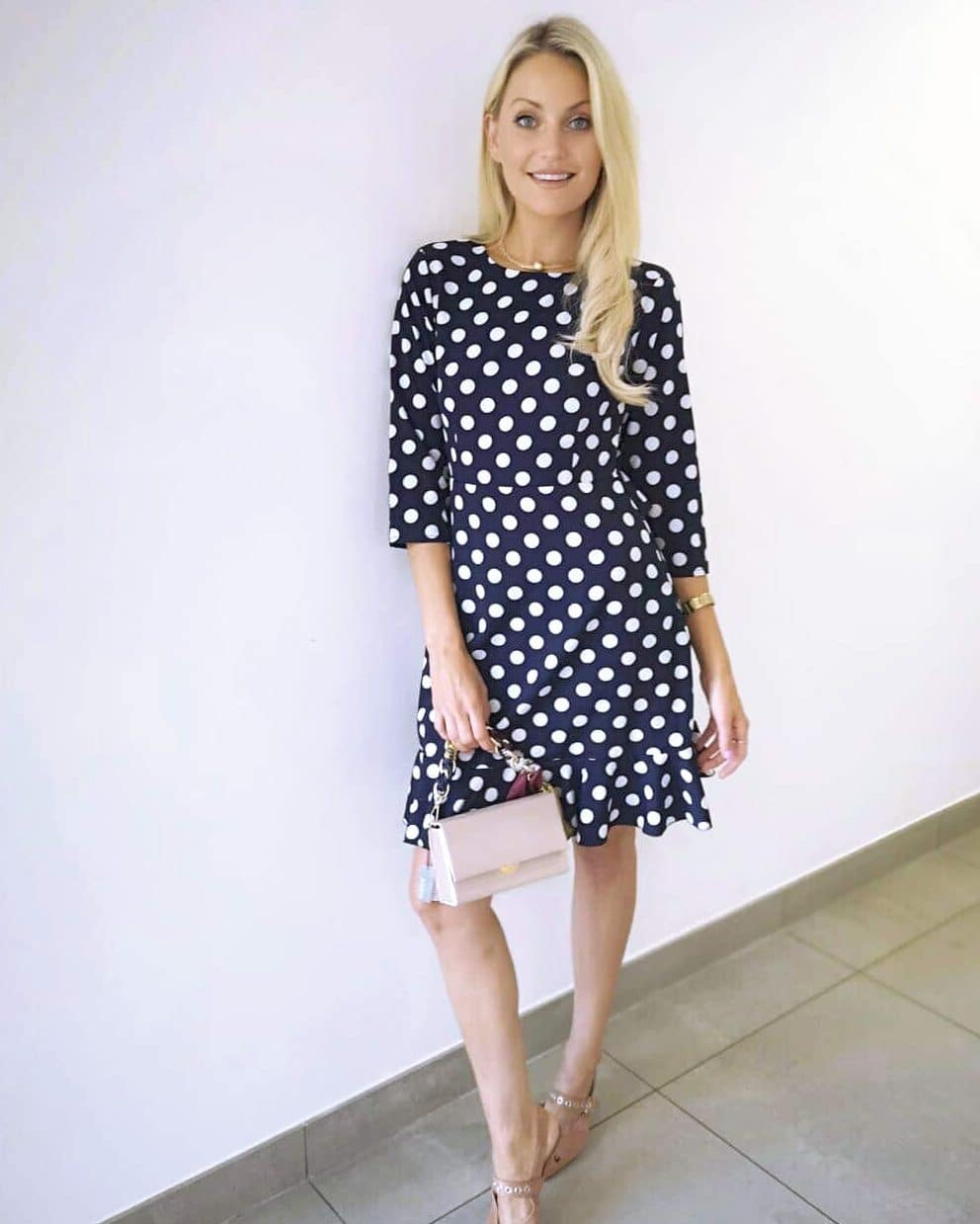 Navy-polka-dot-open-back-dress-Alila