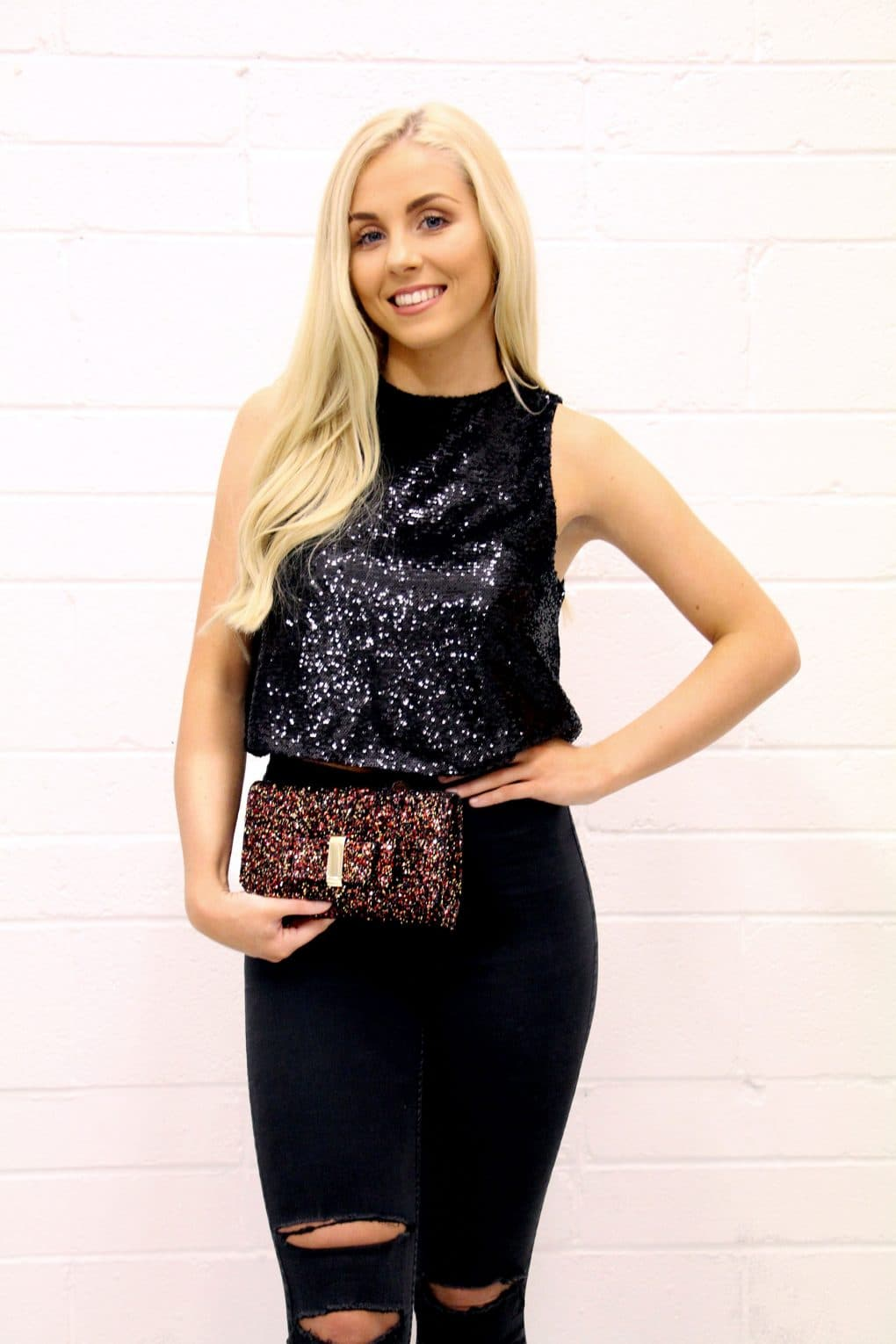 Alila-Black-Sequins-Crop-Top-Angeleye