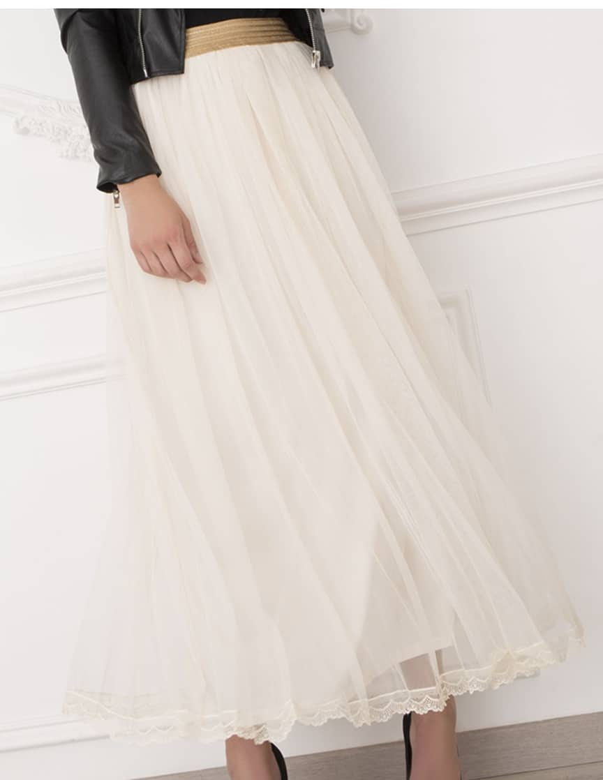 Alila-Bridesmaid-Tulle-Skirt-cream-Danity