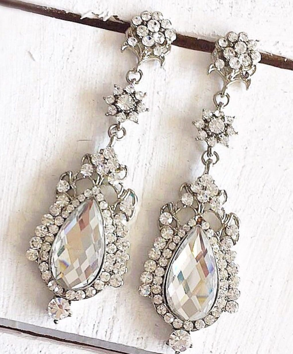 Alila Crystal Drop Earrings